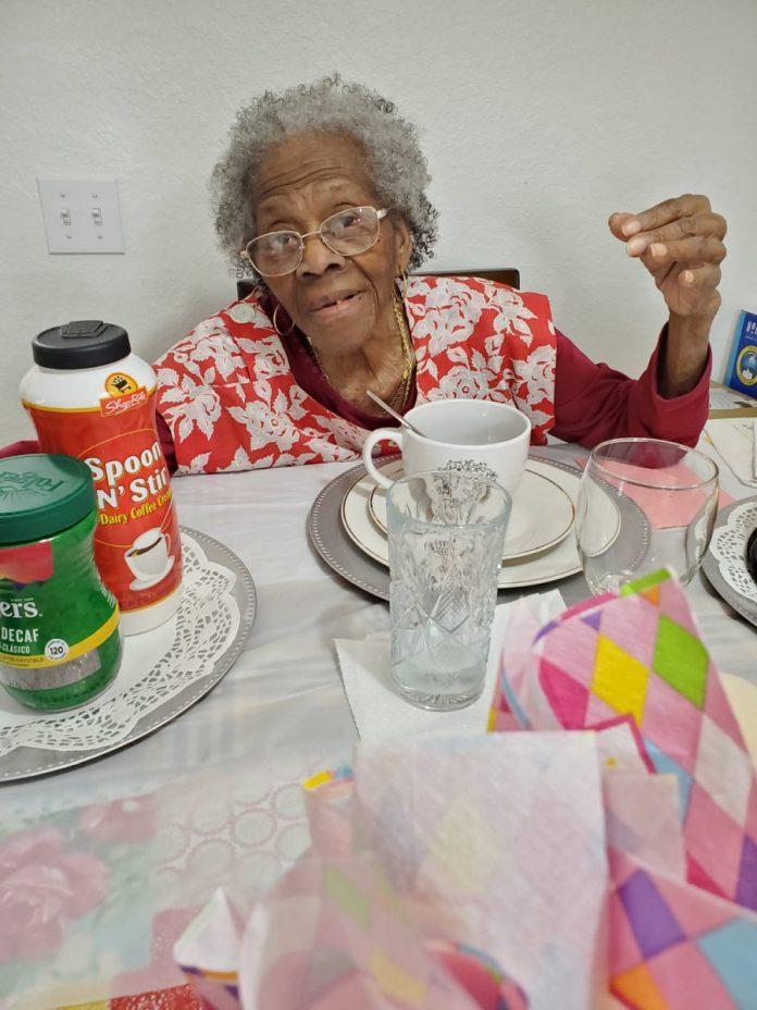 Ma Vio on her 101 birthday