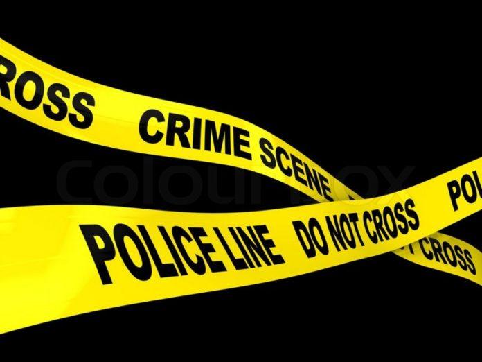 Police crime scene ribbon