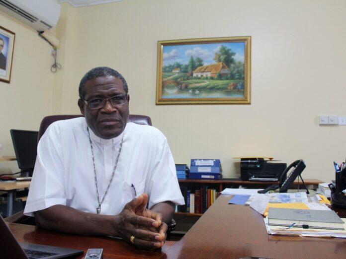 Bishop of Roseau Gabriel Malzaire