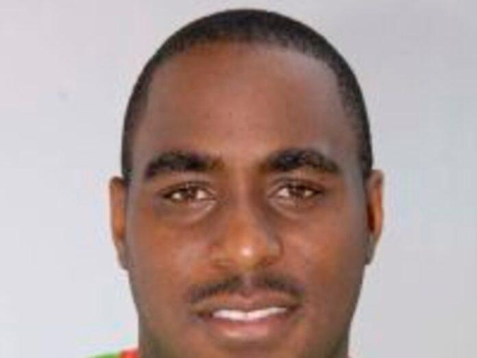 Former Windward Islands cricketer Liam Sebastian