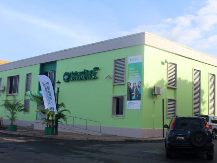 New National Bank of Dominica (NBD) branch Bay Front