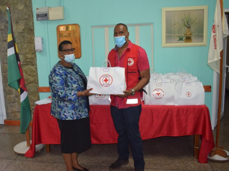 Dominica Red Cross Donates First Aid Kits