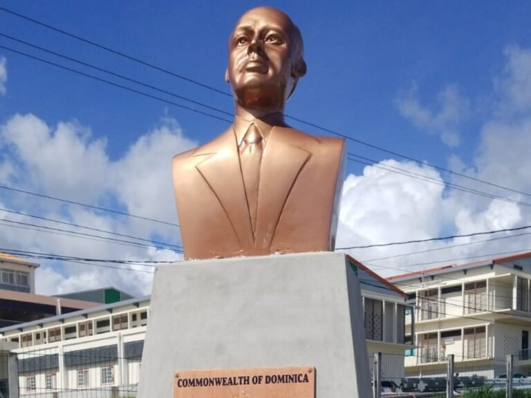 New Bust of Cecil A Rawle