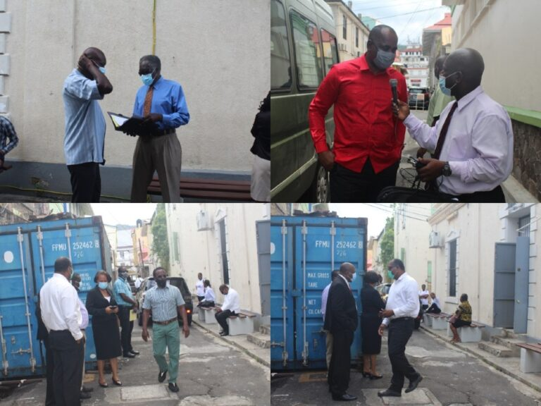 Skerrit et al pleads not guilty to allege Treating