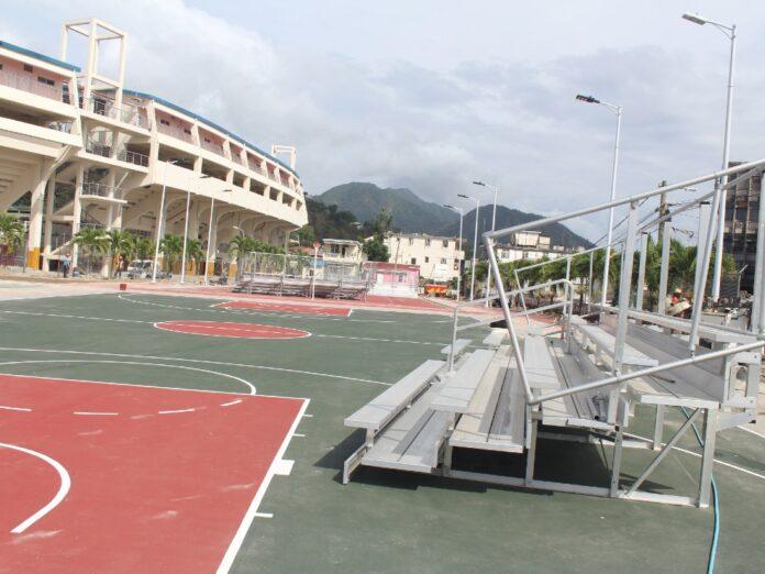 Netball court Windsor Park