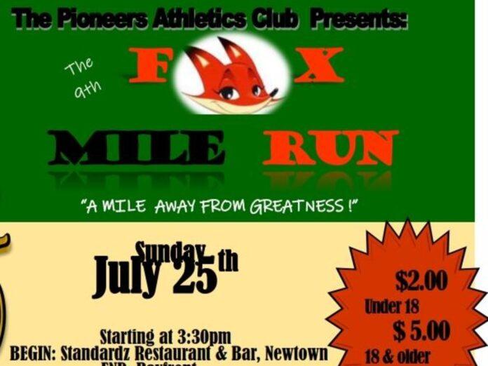 Pioneer Athletics Club (PAC) race
