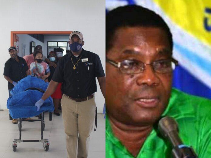 Patrick John former Prime Minister of Dominica