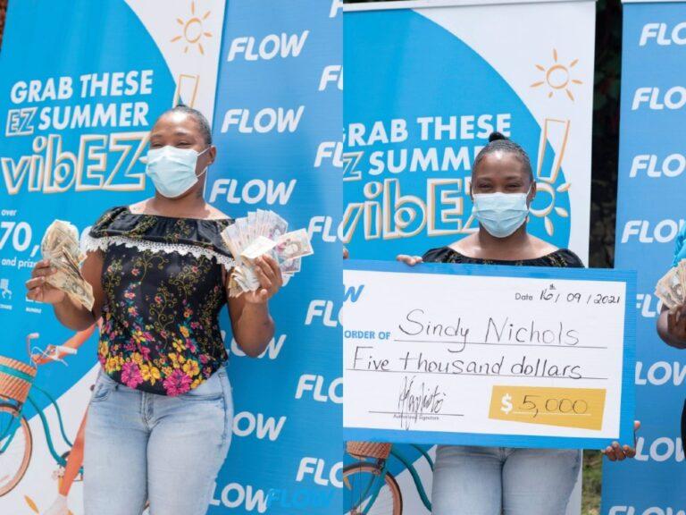 Nichols claimes Flow's final EZ Win Summer prize