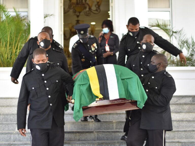 Dominica's first Prime Minister Patrick Roland John finally laid to rest