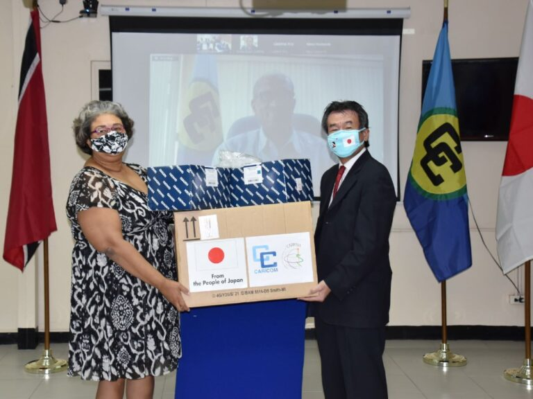 CARPHA strengthens its COVID-19 testing capacity with Japan donation