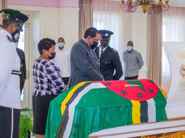 Grand Bay MP Edward Registe laid to rest