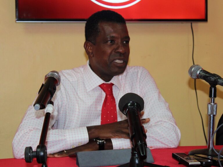 Vince Henderson is back and will be the DLP's candidate in the Grand Bay by-election