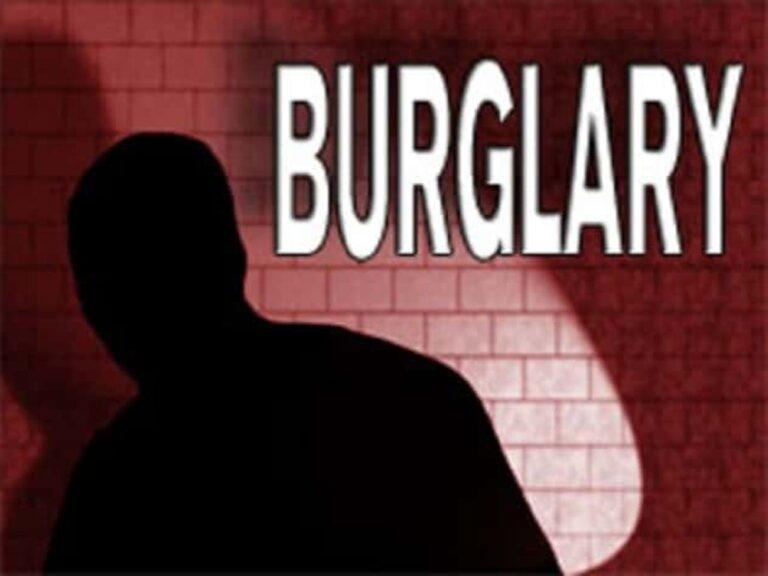 Burglary at Magistrate's Court